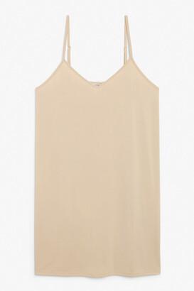 Monki Soft mini slip dress