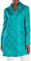 Marni Silk Organza Jacquard Coat