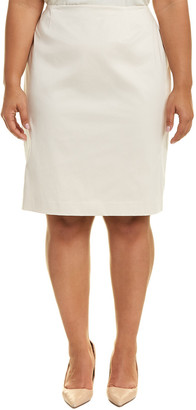 Lafayette 148 New York Plus Modern Slim Skirt