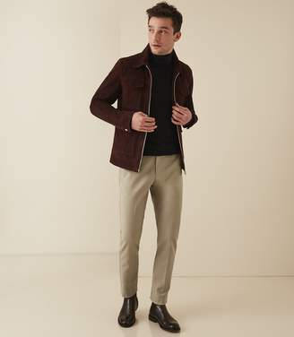 Reiss Westbury Slim - Slim Fit Chinos in Sand