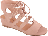 Blush Cicili Gladiator Wedge Sandal