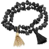 Macy's Inspired Life 2-Pc. Set Stone and Tassel Stretch Bracelets