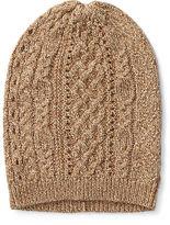 Ralph Lauren 7-16 Cable-Knit Metallic Hat