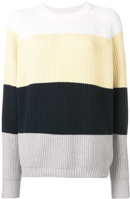 6397 Striped Round Neck Jumper