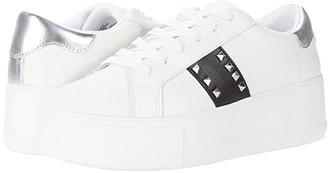 Steve Madden Pingo Sneaker (Black/White) Women's Shoes