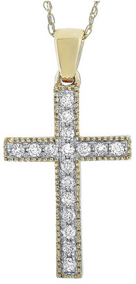 Non Branded Lb Exclusive 14K 0.16 Ct. Tw. Diamond Necklace