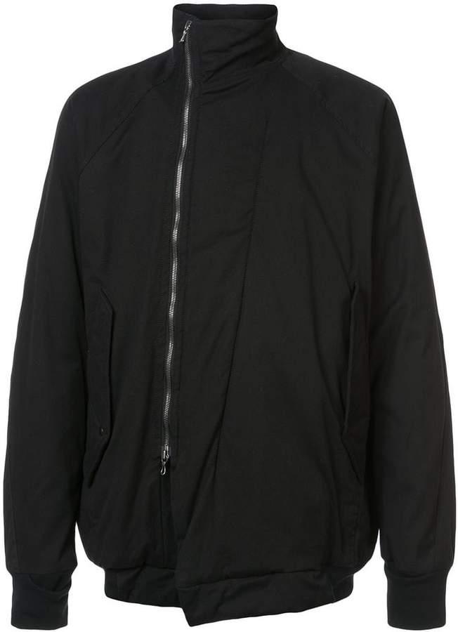 Niløs high neck zipped jacket