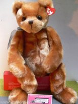 TY Classic Ginger Brown Bear - Yesterbear [Toy]