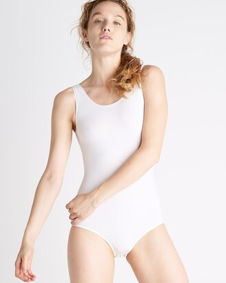 Soma Intimates Yummie Ruby Cotton Shaping Thong-Back Bodysuit