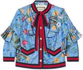 Gucci New flora silk jacket