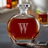 Luigi Bormioli Engraved Whiskey Decanter with Monogram