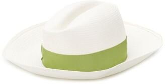 Borsalino Claudette straw hat