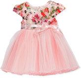 Bonnie Baby Baby Girls' Butterflies & Mesh Dress