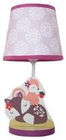 Bedtime Originals Lamp w/ Shade & Bulb - Lavender Woods