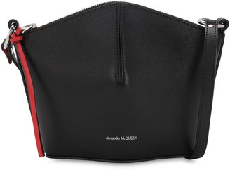 Alexander McQueen Mini Bucket Smooth Leather Bag