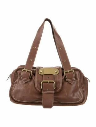 Marc Jacobs Leather Shoulder Bag Brown