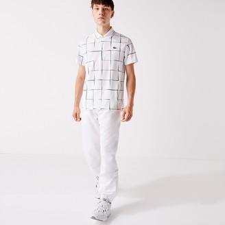 Lacoste Mens SPORT Performance Side Zip Track Pants