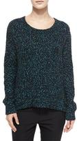 Vince Long-Sleeve Boucle Sweater