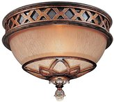 Minka Lavery ML 1754 Crystal Flushmount Ceiling Fixture from the Aston Court Collection