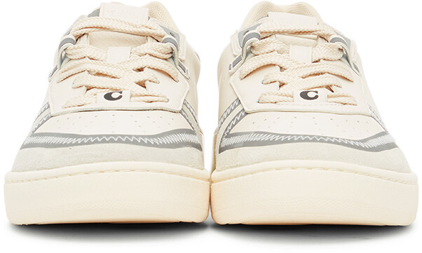 Thumbnail for your product : Coach 1941 Off-White Citysole Court Sneakers