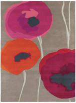 Sanderson Poppies Red/Orange Rug