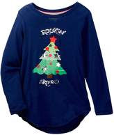 Poof Rockin Around the Christmas Tree Light Up Tee (Big Girls)