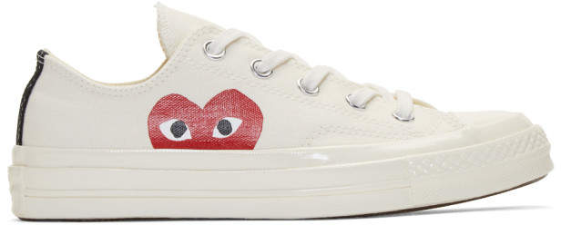 Comme des Garcons Off-White Converse Edition Chuck Taylor All-Star 70 Sneakers