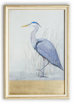 "John-Richard Collection Keeping Watch II"" (Left Facing) Heron Print"