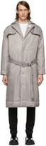 032c Grey Cosmic Workshop Coat