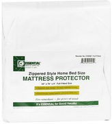 "Essential Medical Mattress Protector Zippered Style Full Fitted 54"" x 75"" x 9"""