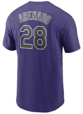 Nike Men's Nolan Arenado Colorado Rockies Name and Number Player T-Shirt
