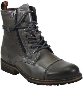Mens Side Zipper Lace Up Boots | Shop