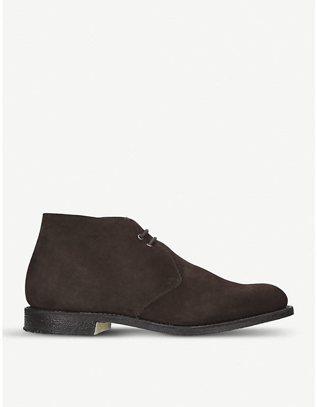 Church's Toronto suede Oxford shoes
