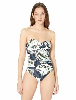 La Blanca Women's Bandeau One Piece Swimsuit
