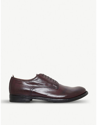 Officine Creative Anatomia derby leather shoes