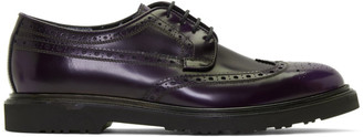 Paul Smith Purple Crispin Brogues