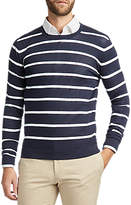 HUGO BOSS HUGO by Simun Stripe Cotton Jumper, Navy