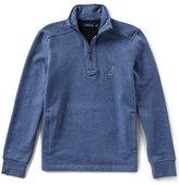 Nautica Slim Fit Quarter Zip Fleece Pullover