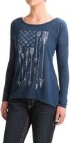 Roper Arrow Flag Shirt - Long Sleeve (For Women)