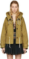 Etoile Isabel Marant Brown Lagilly Short Cotton Trench Jacket