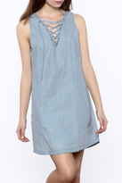 BB Dakota Gilbert Chambray Dress