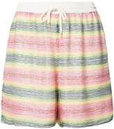 Ashish beaded striped shorts