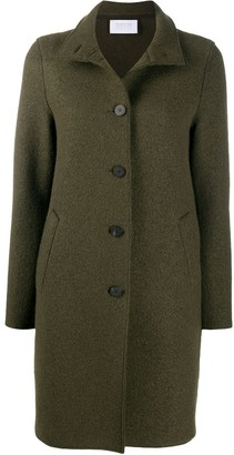 Harris Wharf London Single-Breasted Wool Coat