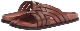 Cole Haan Feathercraft Slide Sandal (Monk's Robe/CH Dark Roast) Men's Shoes