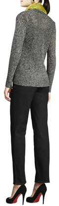 Eileen Fisher Multi-Tonal Flutter Cardigan