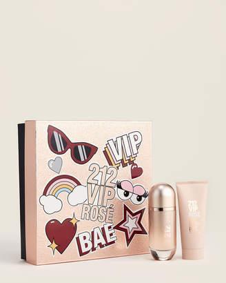 Carolina Herrera Two-Piece 212 VIP Rose Perfume Set