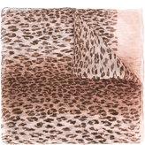 Salvatore Ferragamo leopard print scarf - women - Silk - One Size