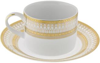 Ten Strawberry Street Iriana 6Pc 8Oz Cup & Saucer Set