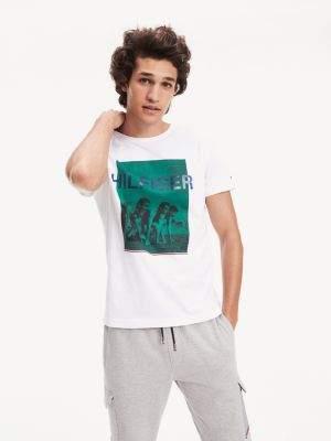 Tommy Hilfiger Regular Fit Runners Photo Print T-Shirt