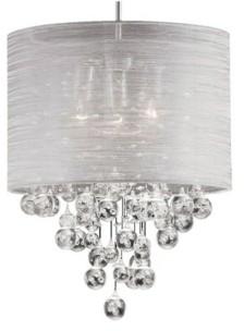 Dainolite 3 Light Incandescent Crystal Pendant
